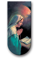 WJ Hirten Magnetic Bookmark Madonna with Prayer Before Reading the Bible