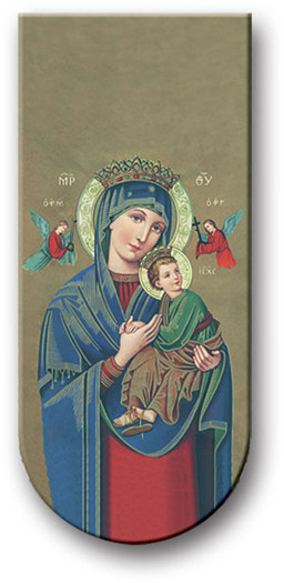 WJ Hirten Magnetic Bookmark Our Lady of Perpetual Help