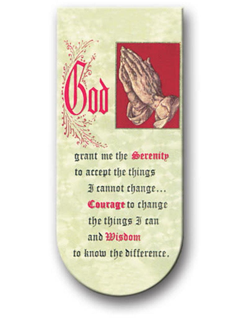 WJ Hirten Magnetic Bookmark Serenity Prayer