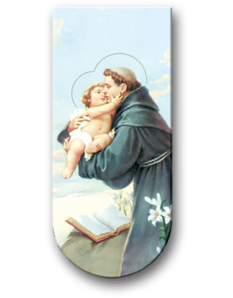 WJ Hirten Magnetic Bookmark St. Anthony
