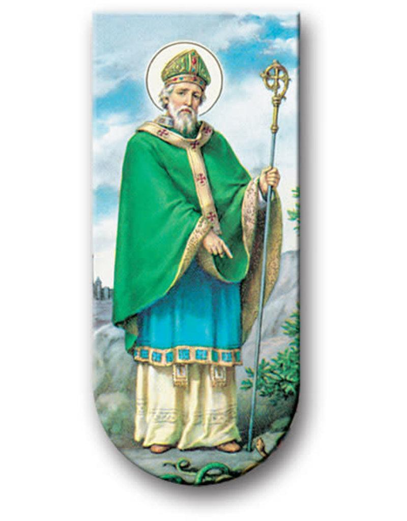 WJ Hirten Magnetic Bookmark St. Patrick