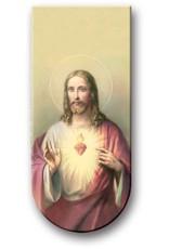 WJ Hirten Magnetic Bookmark Sacred Heart