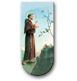 WJ Hirten Magnetic Bookmark St. Francis