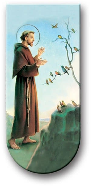 WJ Hirten Magnetic Bookmark St. Francis