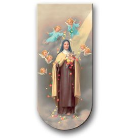 WJ Hirten Magnetic Bookmark St. Theresa