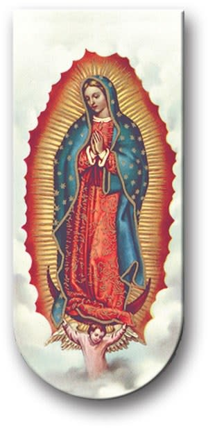 WJ Hirten Magnetic Bookmark Our Lady of Guadalupe
