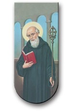 WJ Hirten Magnetic Bookmark St. Benedict