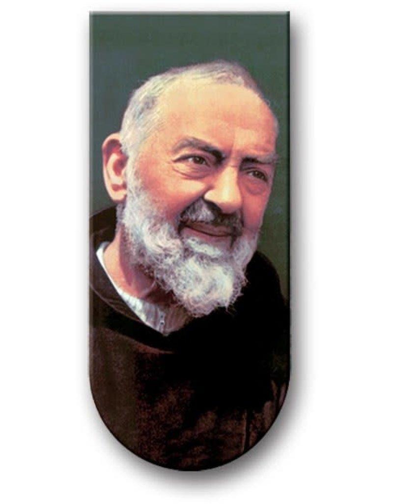 WJ Hirten Magnetic Bookmark Padre Pio