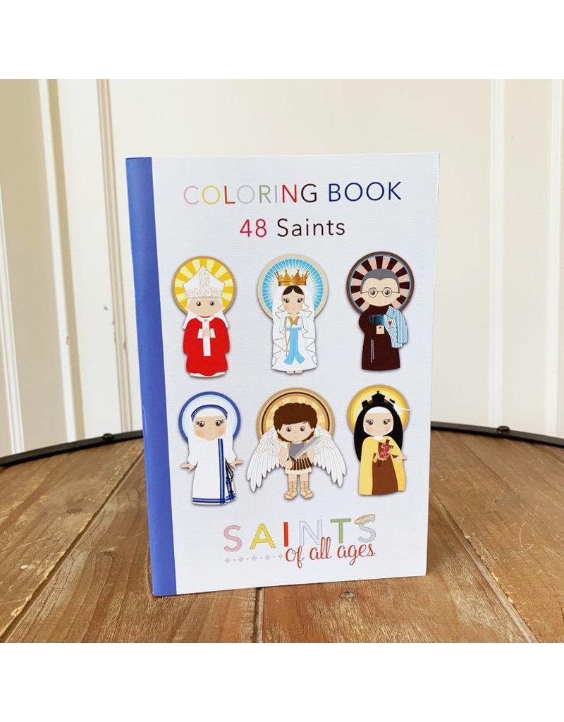 Meyer Market Designs Catholic Saints Coloring Book