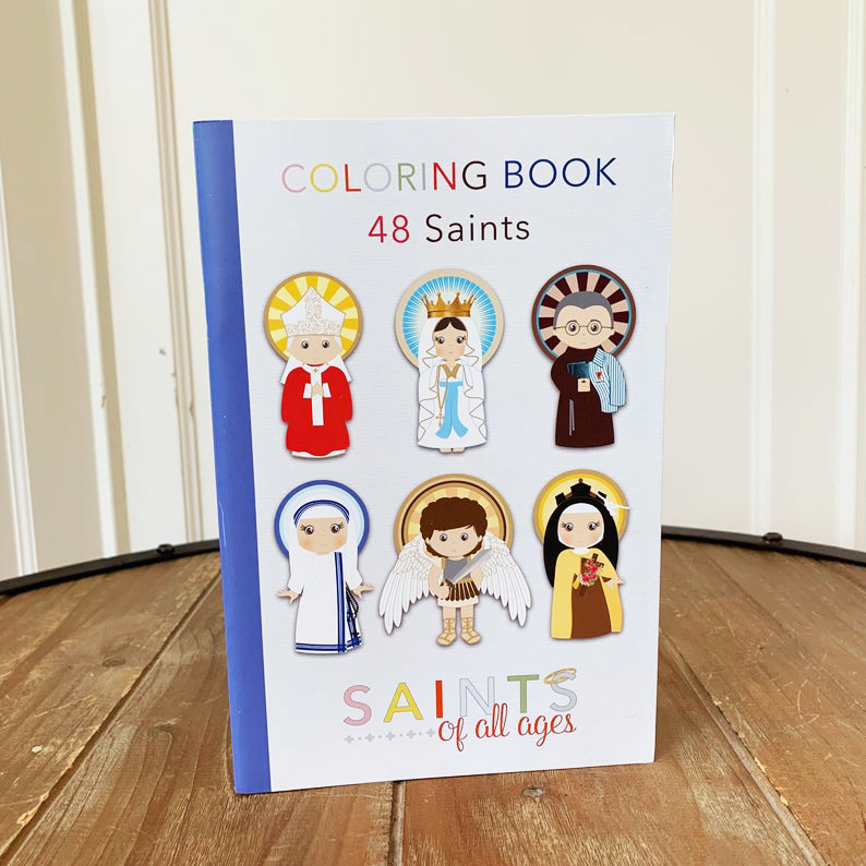 Meyer Market Designs Catholic Saints Coloring Book