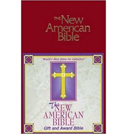 catholic books Gift and Award Bible-NABRE New American Edition (Red)