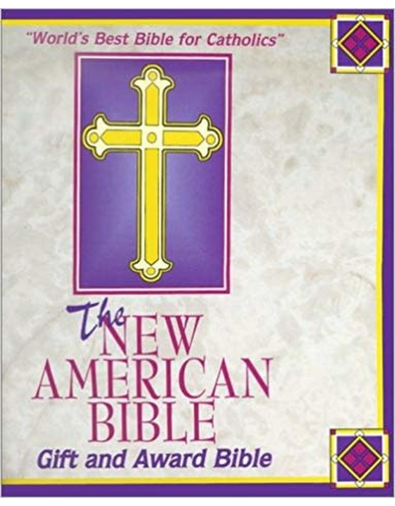 catholic books Gift and Award Bible-NABRE New American Edition (White)