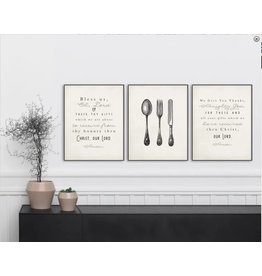 Meyer Market Designs Set of 3 Kitchen Prayer Prints Meyers Market Designs