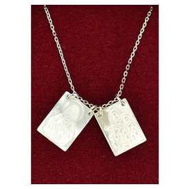 McVan Mother of Pearl Scapular