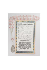 McVan St. Therese Chaplet with Card