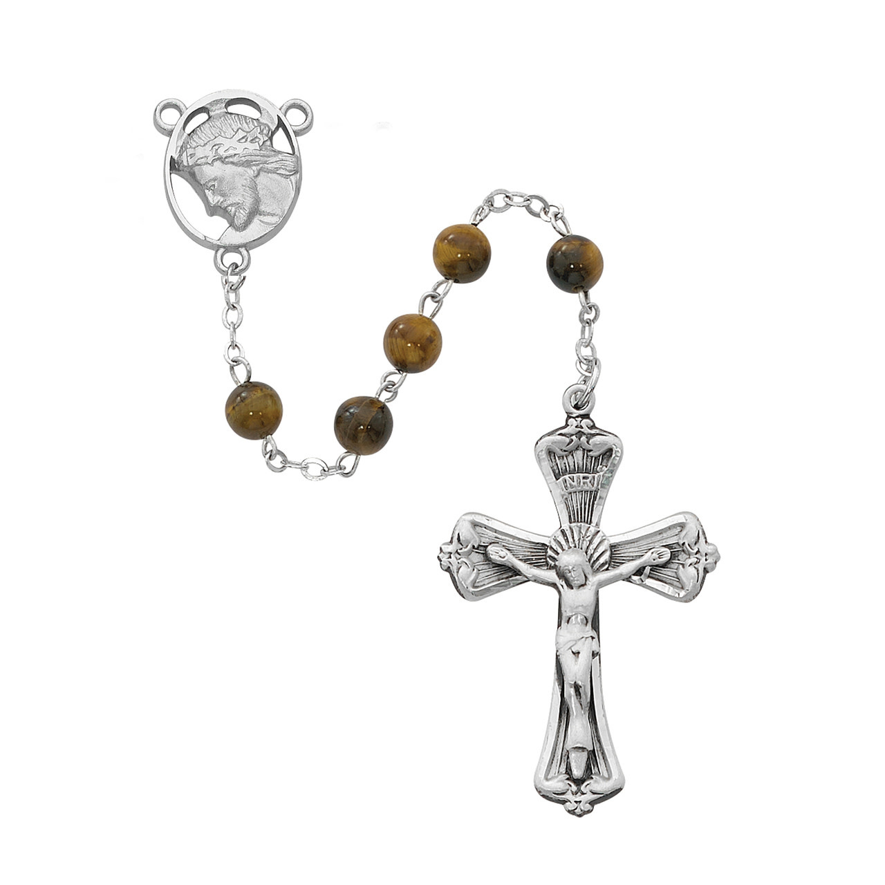 McVan Genuine Tiger Eye Rosary