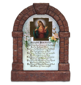 Nelson Fine Art Sacred Heart House Blessing Outdoor Garden Shrine