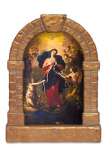 Nelsons Fine Art and Gifts Mary Undoer of Knots Outdoor Garden Shrine