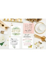 Meyer Market Designs Set of Saint Inspiration Stickers (Set of 18)