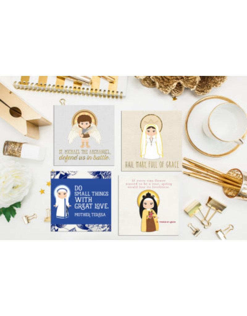 Meyer Market Designs Saint Stickers Set #1 (Set of 12)