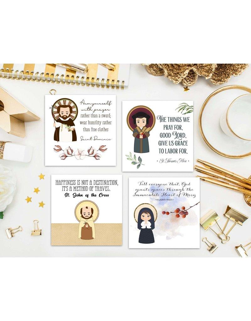 Meyer Market Designs Saint Stickers Set #2 (Set of 12)