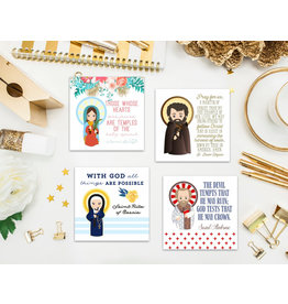 Meyer Market Designs Saint Stickers Set #3 (Set of 12)