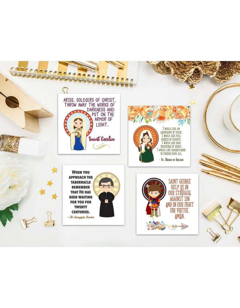 Meyer Market Designs Saint Stickers Set #3 (Set of 12)