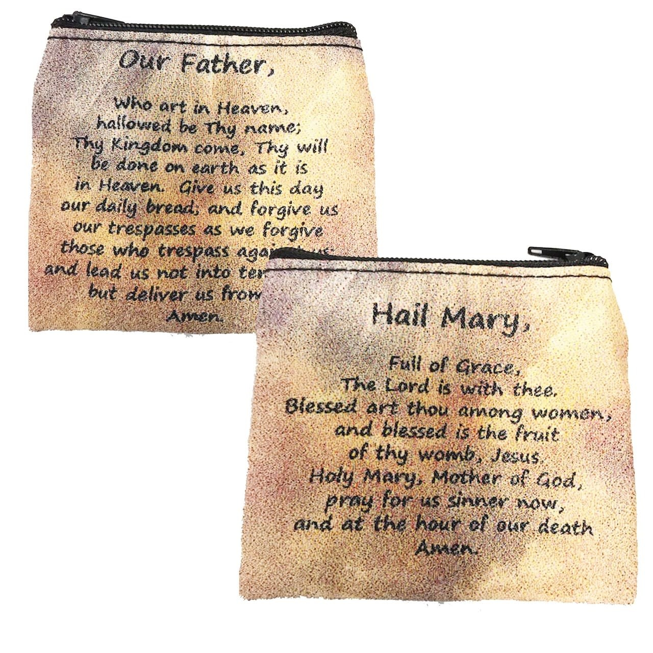 McVan Our Father and Hail Mary Rosary Pouch