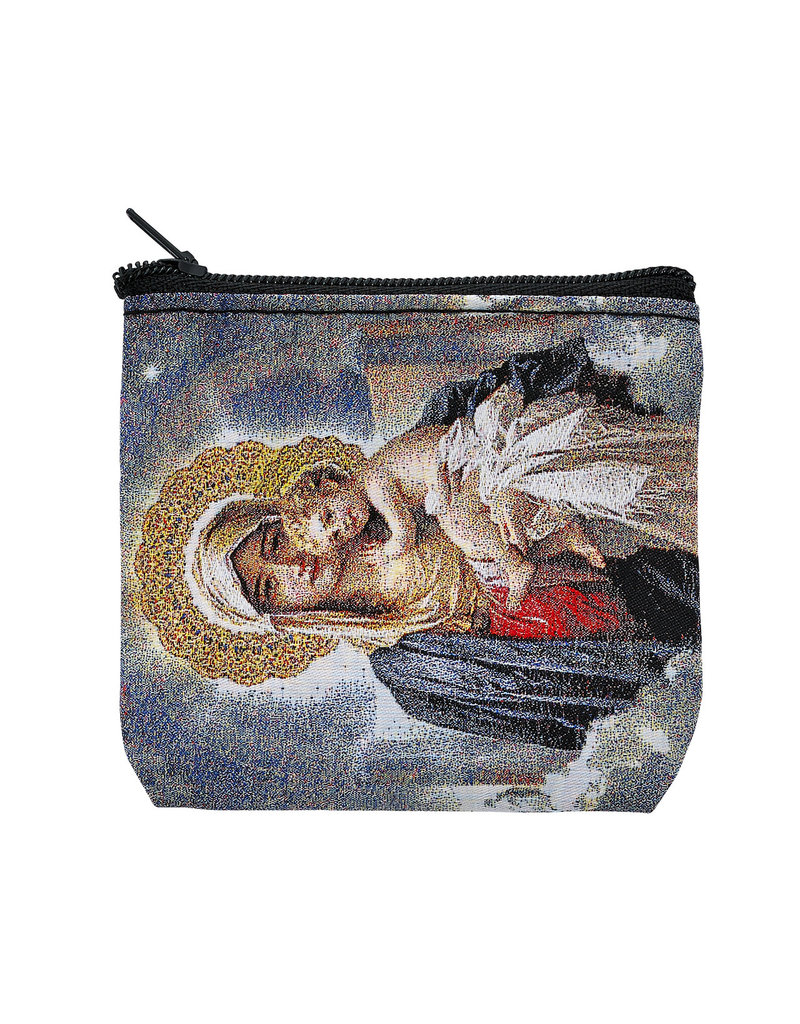McVan Mother and Child Rosary Pouch