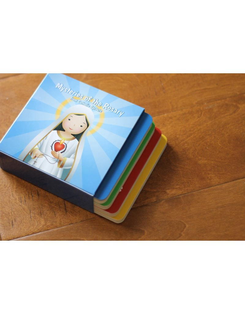 Catholic Sprouts Book Set: Mysteries of the Rosary