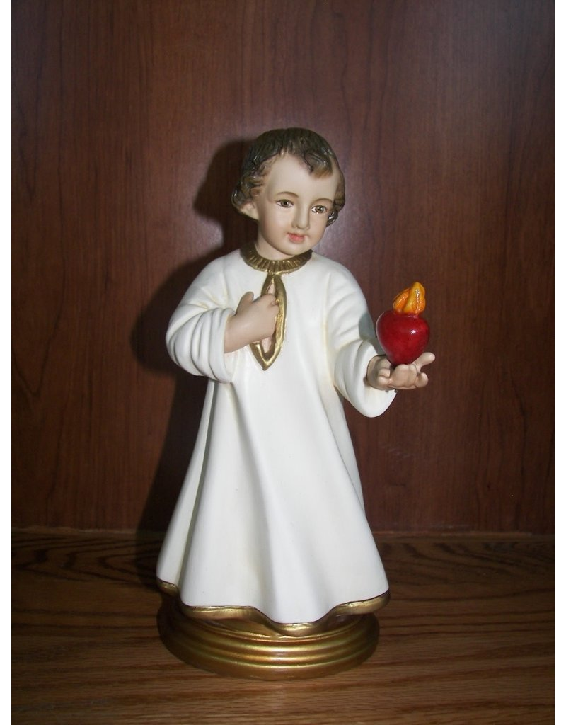 """Fiat Imports 10"""" Divine Heart of Jesus the Child"""