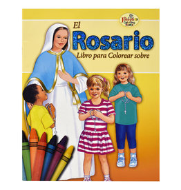 Catholic Book Publishing Corp El Rosario Coloring Book