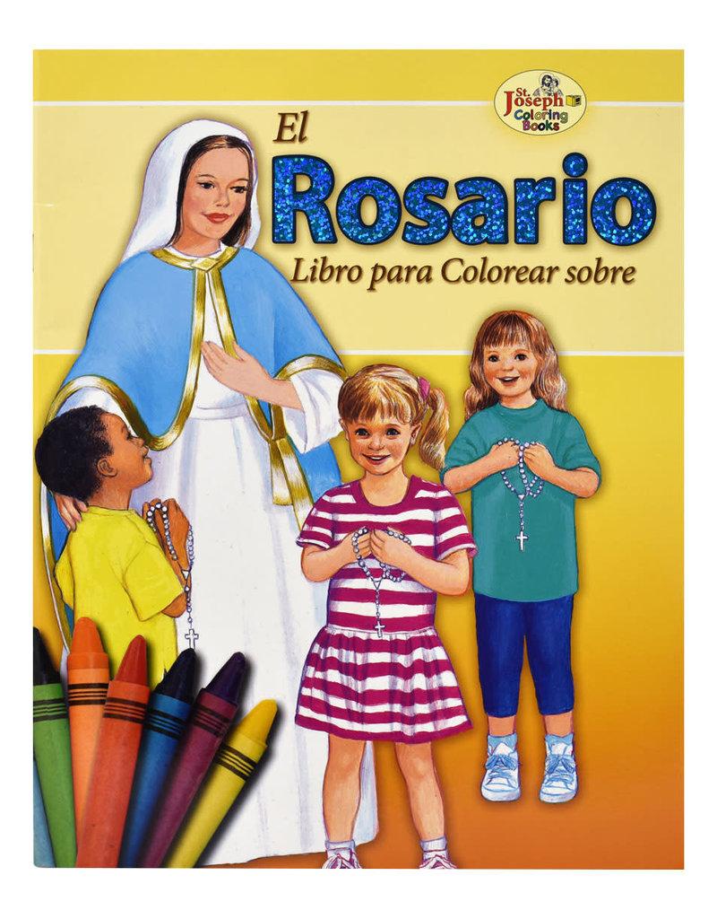 Catholic Book Publishing Corp El Rosario Coloring Book