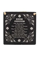 Liffey Artefacts IRISH BLESSING - MAY THE ROAD RISE 5.5 X 5.5