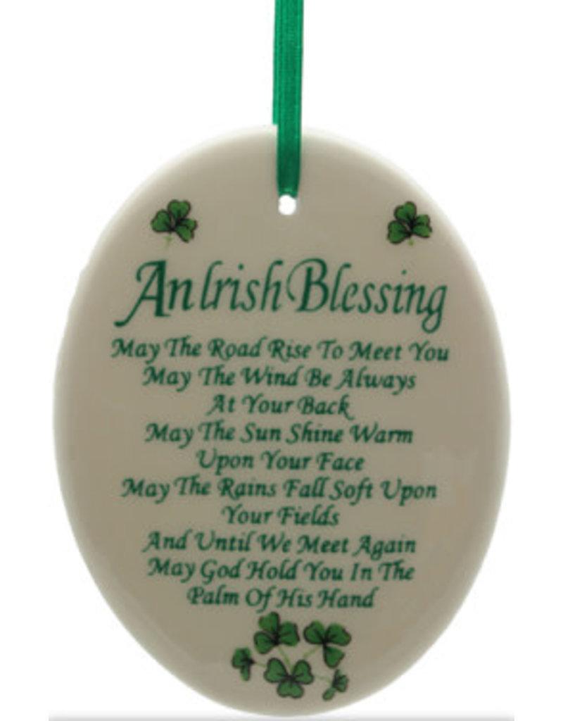 Liffey Artefacts Irish Blessing Ornament