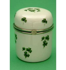 Liffey Artefacts Round Celtic Irish Trinket Box