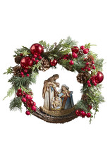 Christian Brands Nativity Wreath