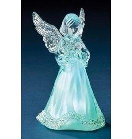 "Roman, Inc Figurine-LED Little Angel Tricolor (3.5"")"