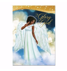 African American Expressions Box of Christmas Cards Glory to God (Set of 15)