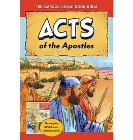 Tan Books Catholic Comic Book Bible: Acts of the Apostles
