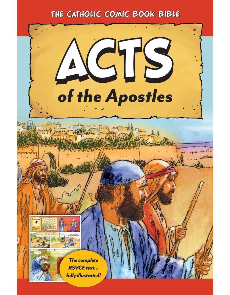 Tan Books Catholic Comic Book Bible: Acts of the Apostles