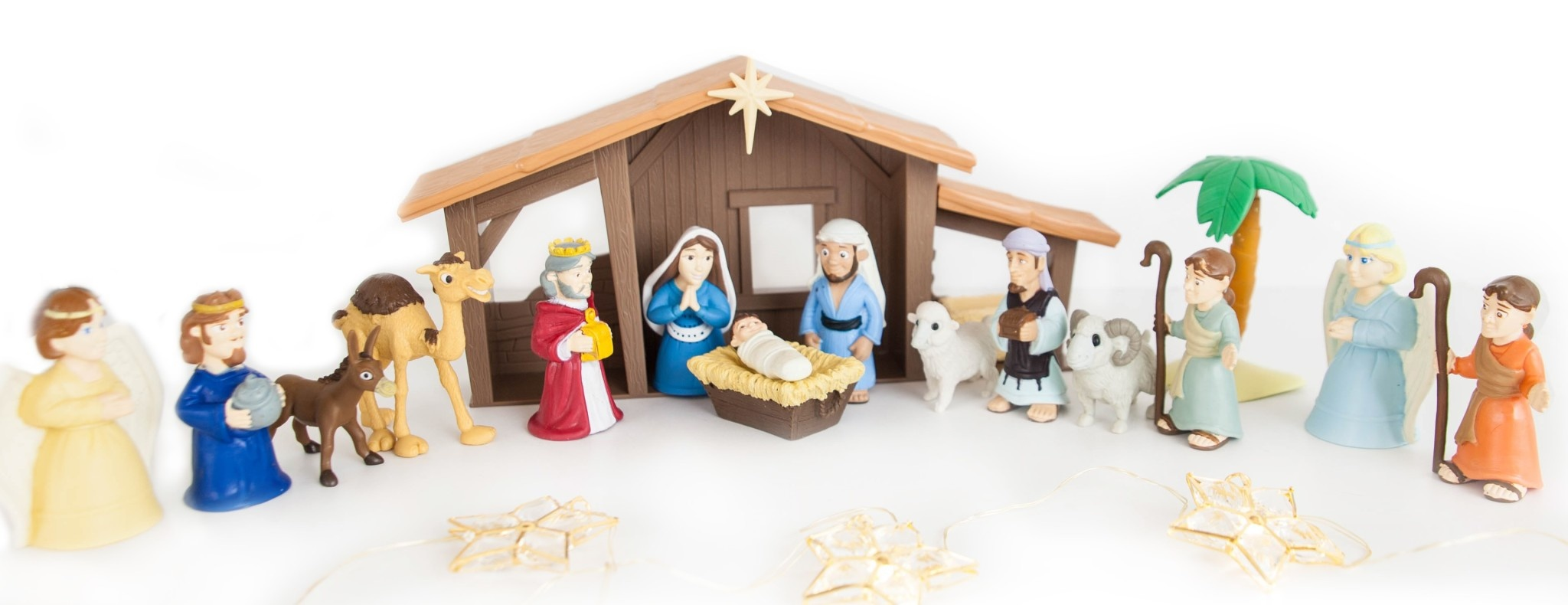 Tales of Glory Toy-Playset-Tales Of Glory: Nativity w/Talking Mary Figurine
