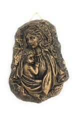 Liffey Artefacts Bronze Mother & Child Plaques/Paper weights