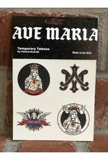 Motherboards Ave Maria Temporary Tattoos