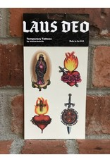 Motherboards Laus Deo Temporary Tattoos