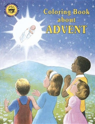 Catholic Book Publishing Corp Coloring Book about Advent