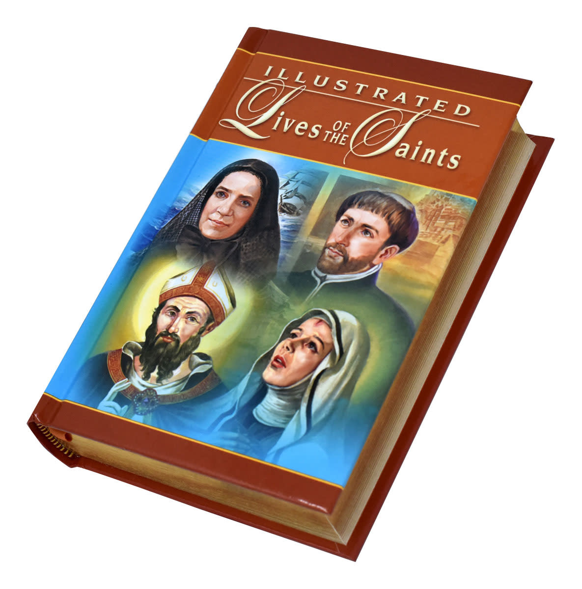 Catholic Book Publishing Corp Illustrated Lives of the Saints