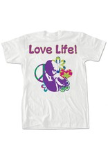 Nelsons Fine Art and Gifts Love Life T-Shirt Medium