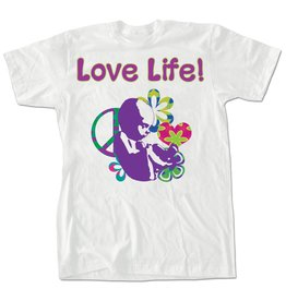 "Nelson Fine Art ""Love Life"" T-Shirt Medium"