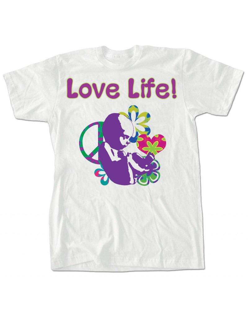 Nelson Fine Art Love Life T-Shirt Medium